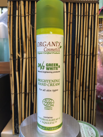 Brightening Hand Cream 100 ml - JBORGANICS
