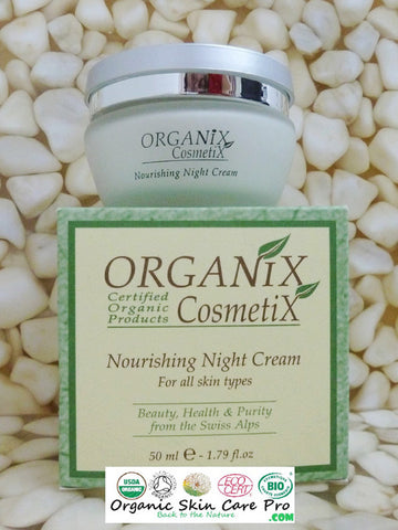 Nourishing Night Cream For All Skin Types - JBORGANICS