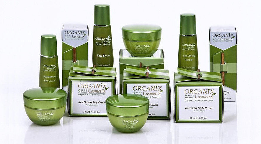 Catalog of natural organic cosmetics
