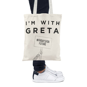I Am With Greta - Tote Bag - Unnaaty