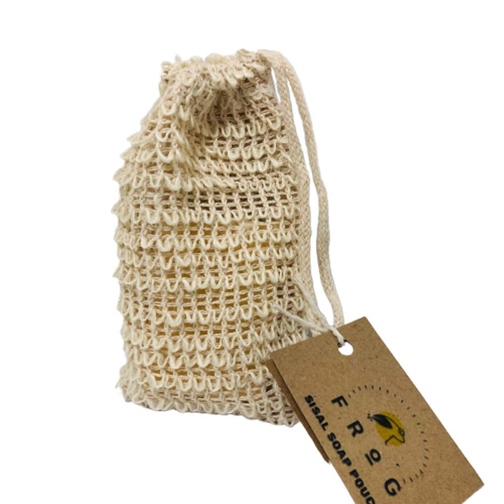 Biodegradable Sisal Soap Pouch - Unnaaty