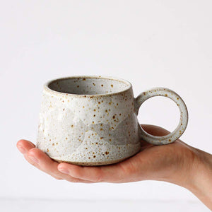 Speckled Stoneware Mug - White - Unnaaty