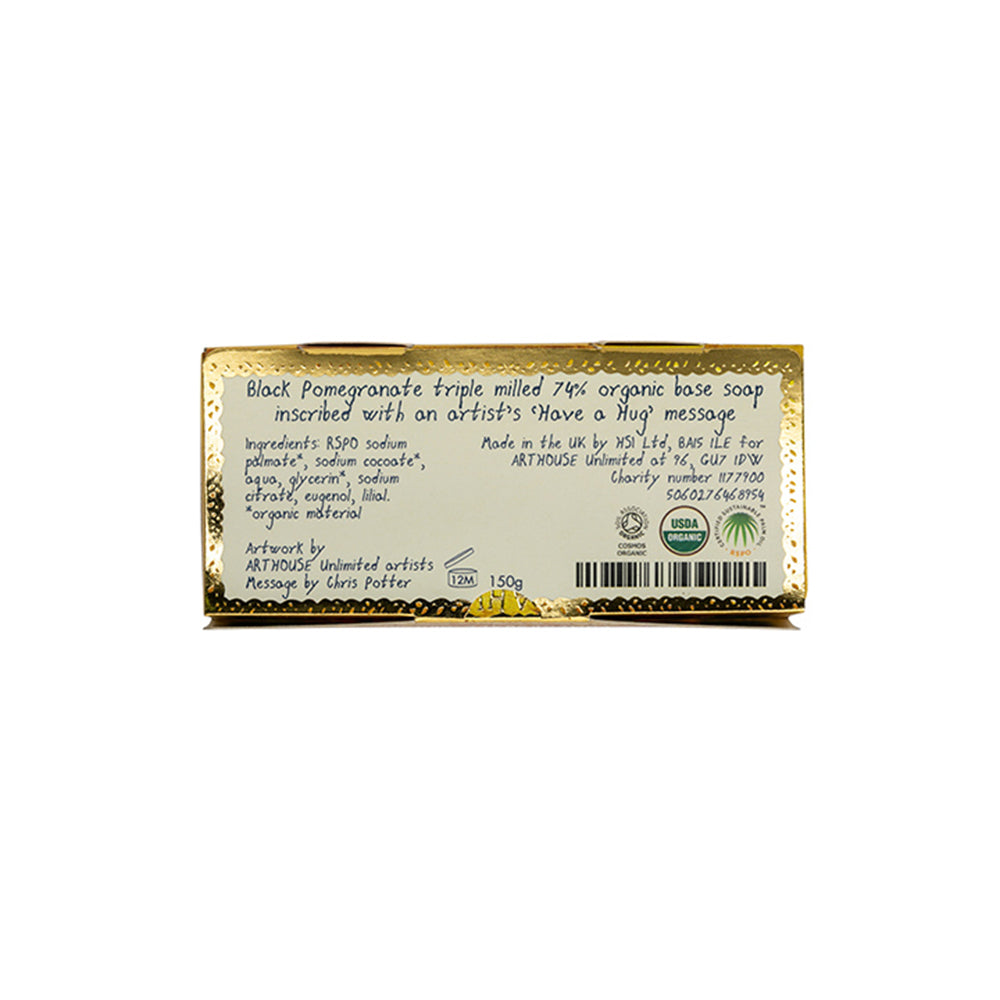 Black Pomegranate Organic Soap - Unnaaty