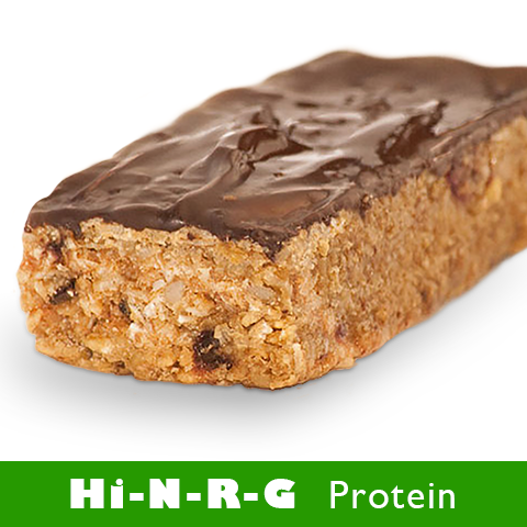 Chocolate Protein<br> Granola Bars