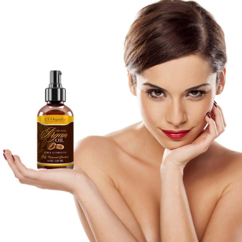 100% Pure and Organic Triple Virgin Argan Oil
