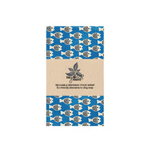 Load image into Gallery viewer, REUSABLE BEESWAX FOOD WRAP (2 SIZES)
