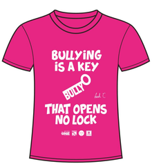 Anti-Bullying Pink T-Shirt