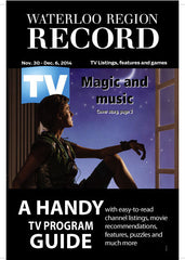 The Record's TV Book - One Year Subscription