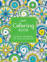 Posh Colouring Book