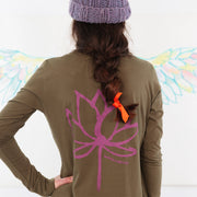 Breathe Tunic in Organic Cotton, Lovbird Designs Toronto Ontario