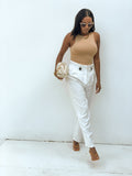 Paperbag highwaist trousers