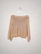 Basic loose knit jumper