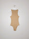 Sleeveless bodycon bodysuit