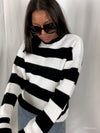 'Jade' Stripe Knit Jumper