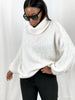 XL soft roll neck knit