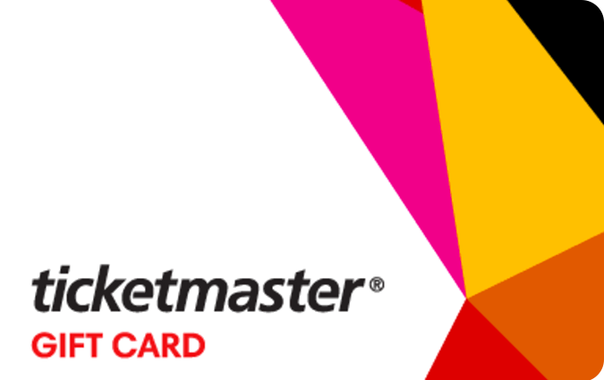 E-carte cadeau Ticketmaster