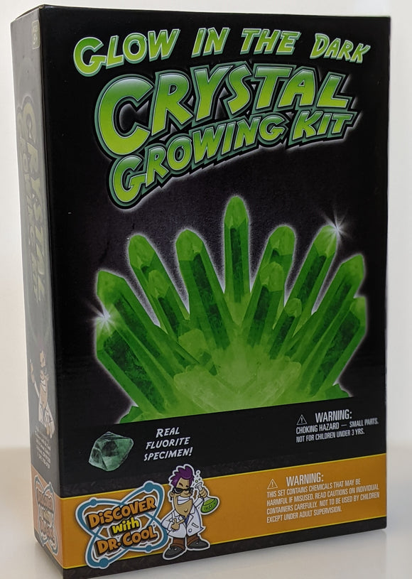 Glow In The Dark Crystal Making Kit