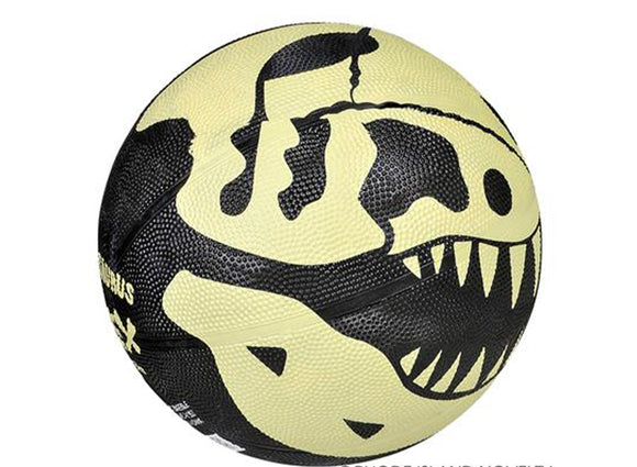Dinosaur Skeleton Basketball