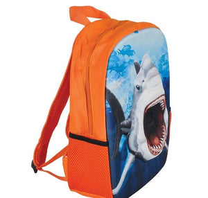 "14"" 3D Foam Shark Backpack"