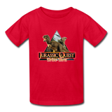 Jurassic Quest Drive Thru - Youth T-Shirt - red