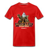 Jurassic Quest Drive Thru Costa Mesa, CA - Adult Shirt - red