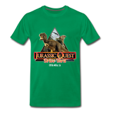 Jurassic Quest Drive Thru Costa Mesa, CA - Adult Shirt - kelly green