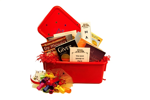 Book Gift Baskets for ages 10-14 - Newbery Award Collection