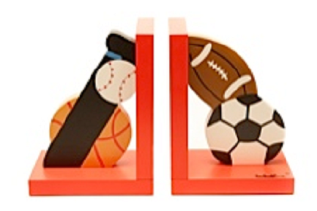Sports Bookends - For Little Athletes