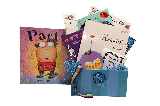 Keepsake Boxes Filled with Books (Ages 4-6)