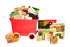Gift wagon of books - deluxe personalized baby gift