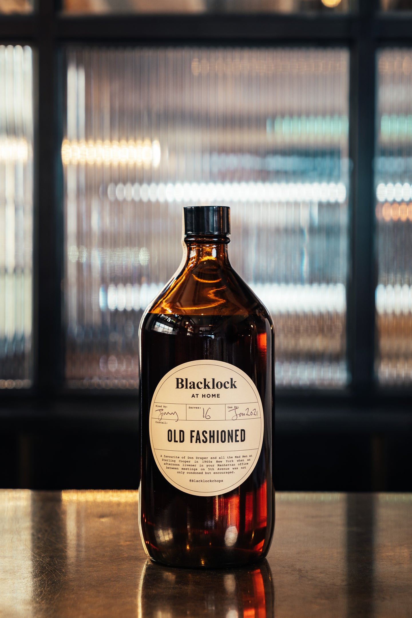 Old Fashioned 1000ml - 16 serves