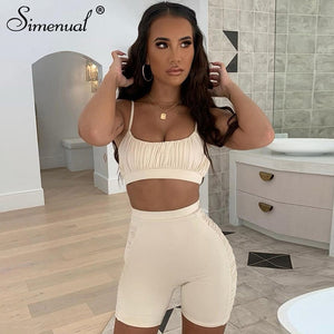 Summer Camis And Biker Shorts Sets