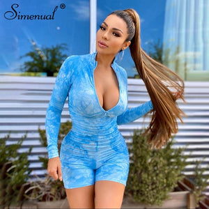 Simenual Tie Dye Playsuit