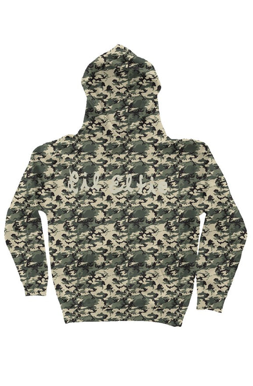 Army Camo Camo Independent Heavyweight Hoodie