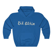Load image into Gallery viewer, Lil Elfie Logo on Unisex Heavy Blend Hooded Sweatshirt