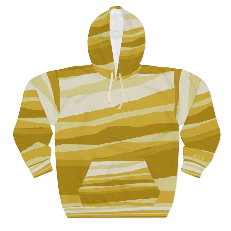 Lil Elfie Sunburst All-over-Print Unisex Pullover Hoodie