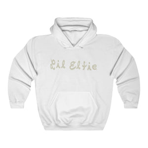 Lil Elfie Logo on Unisex Heavy Blend Hooded Sweatshirt