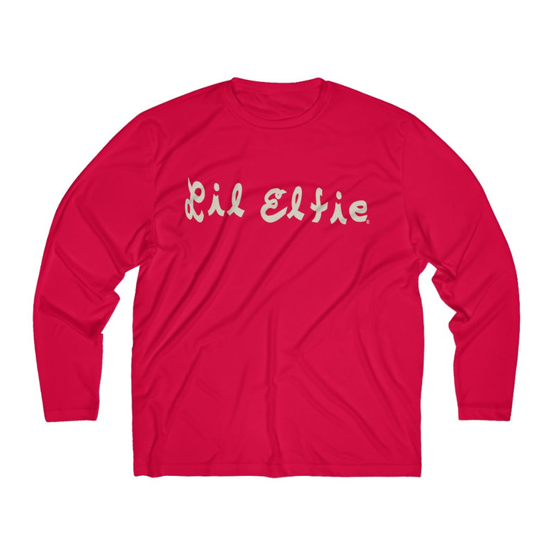Lil Elfie Men's Long Sleeve Moisture Absorbing Tee