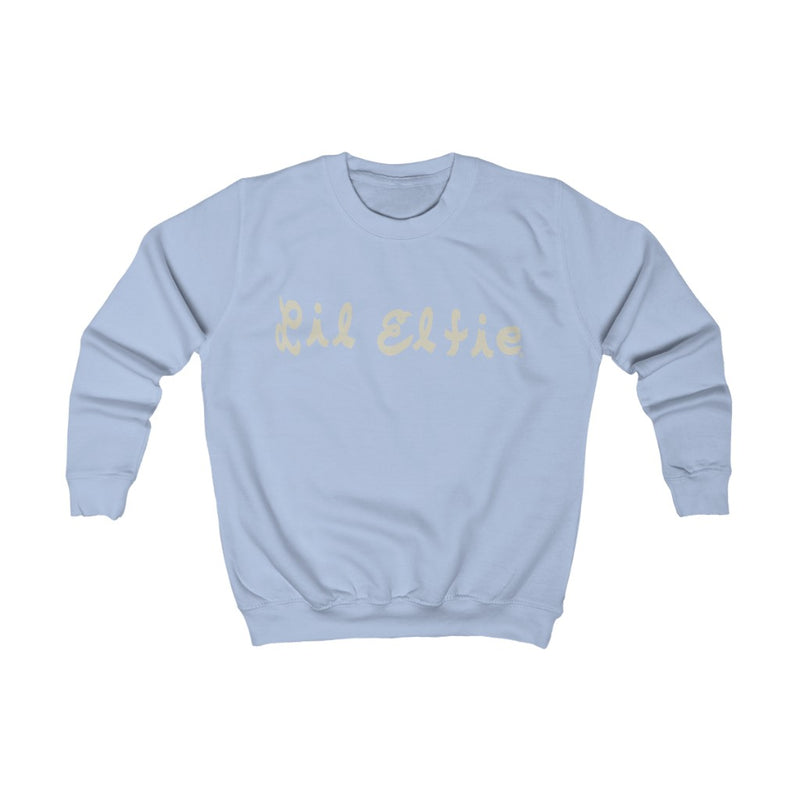 Lil Elfie Logo on Kids (Childrens') Sweatshirt