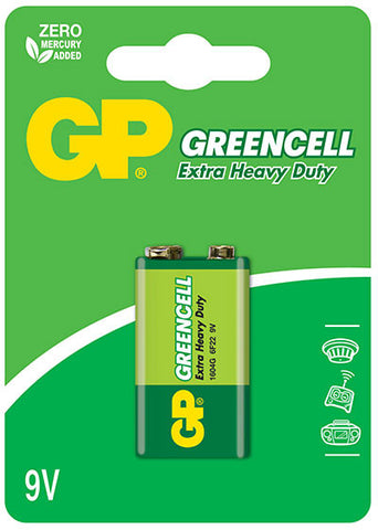 GP Greencell 9V Battery