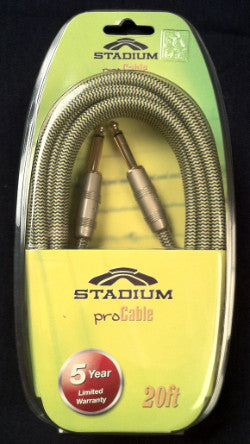 Stadium Deluxe Guitar Cables