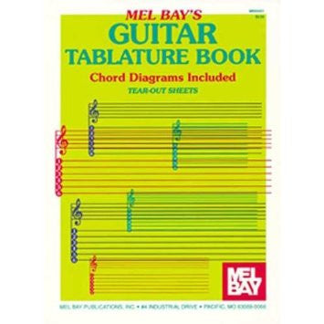 Mel Bay Guitar Tablature Book