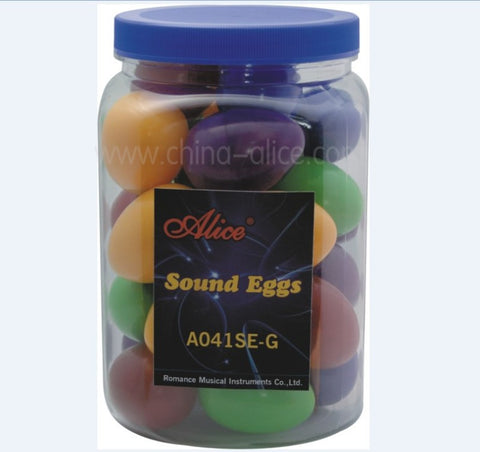 A041SE-G ALICE SOUND EGGS 28PC DISPLAY