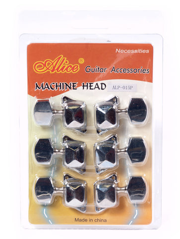 AL0-15P ACOUSTIC MACHINE SET CHROME PLATED COVERED
