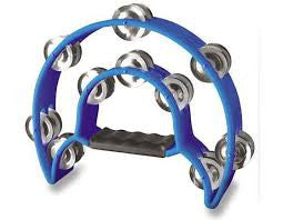 ATB002BLU ALICE DOUBLE-RING TAMBOURINE BLUE