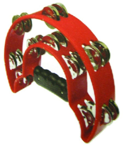 ATB002RD ALICE DOUBLE-RING TAMBOURINE RED