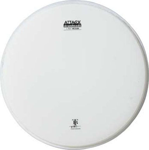 "DHA8C ATTACK 8"" 1-PLY MED COATED HEAD"