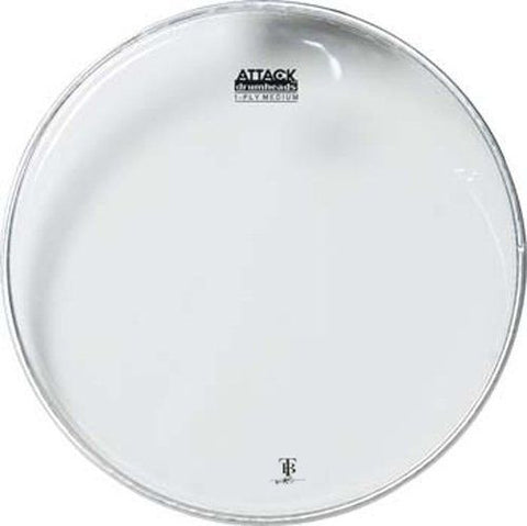"ATTACK 6"" 1-PLY MED CLEAR HEAD"