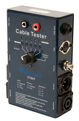 CT-007 PROFESSIONAL CABLE TESTER
