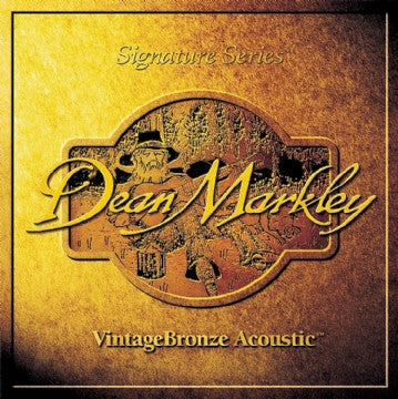 Dean Markley Vintage Bronze Acoustic Strings Medium Gauge